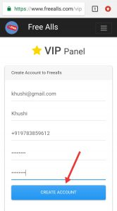 create vip panel