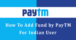 How To Add Fund by PayTM? – For Indian User