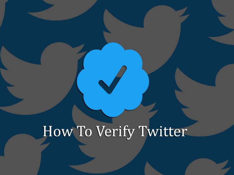 twitter verify